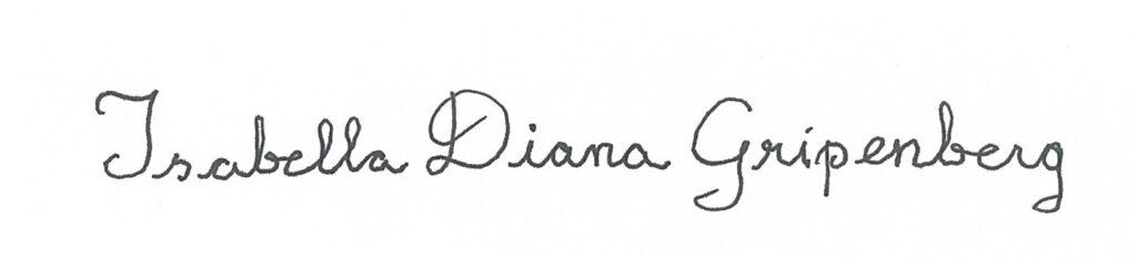 Isabella Diana Gripenberg Art Collection